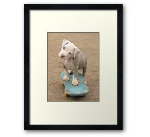 Is this How I Do It Mom? Framed Print
