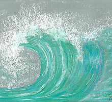 Buttercurl Wave by Dawn B Davies-McIninch