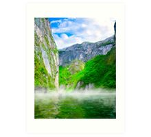 The Majesty Of Morning In Sumidero  Canyon - Chiapas Mexico Art Print