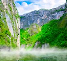 The Majesty Of Morning In Sumidero  Canyon - Chiapas Mexico by Mark Tisdale
