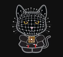 Hellraiser Black Kitty  Womens Fitted T-Shirt