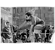 Roller jump Poster