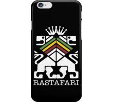 Rastafari WHT iPhone Case/Skin