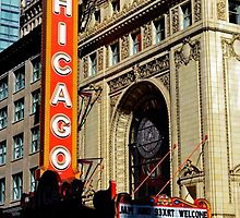 Chicago Theater by elisaschmidt