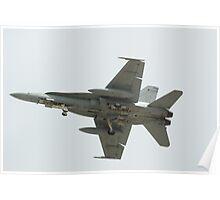 F18 Air Display Poster