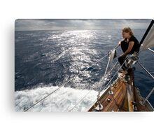 bow wave Canvas Print