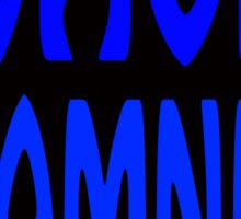 Wave Damnit Sticker