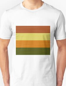 Brush Stroke Stripes: Fall Foliage T-Shirt