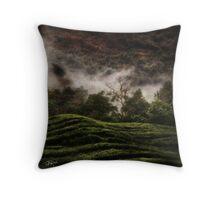 Uganda: Tea Quilt Throw Pillow