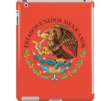Close up of seal in the national flag of Mexico iPad Case/Skin
