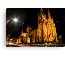St.Mary's Cathedral Sydney  Canvas Print
