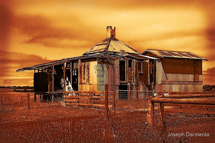 Tin shed Cowes by Joseph Darmenia