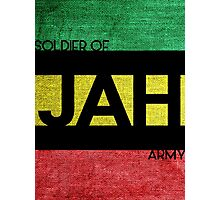 Soldier of JAH Army Photographic Print