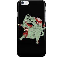Zombie Cat iPhone Case/Skin