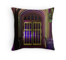 Adelaide Buildings during Festival Throw Pillow