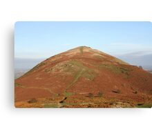 Middletown Hill (Autumn Colours) Canvas Print