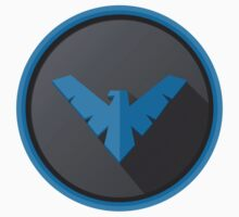 Nightwing - Logo V.01  Kids Clothes