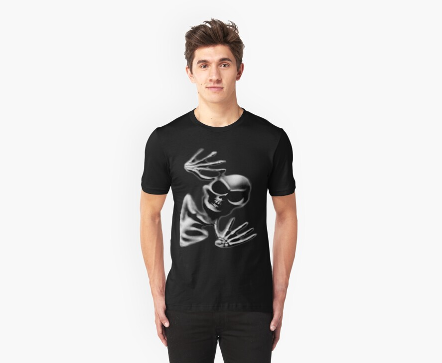 Through The Void Tee by BluAlien