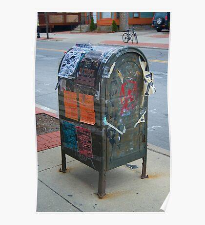 Mailbox Graffiti Poster