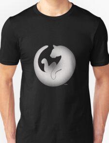 white cat tee Unisex T-Shirt