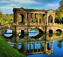 Palladian Bridge Prior Park Bath by wiseowl2503