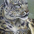 Snow Queen - Snow Leopard by John Houle