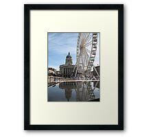 Nottingham Slab Square Framed Print