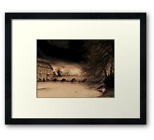 Haunting.. Framed Print