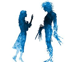 Edward Scissorhands [Blue] by Jonathan Masvidal