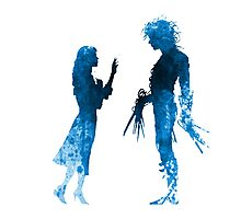 Edward Scissorhands [Blue] Photographic Print