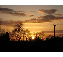 Irish Sunset Photographic Print