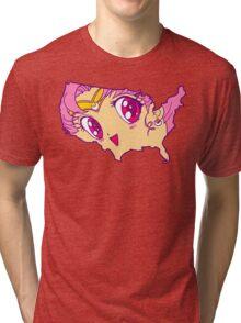 Chibi USA Tri-blend T-Shirt