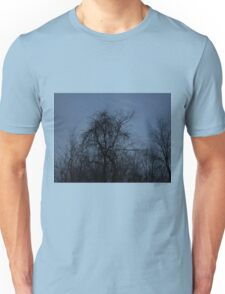 HDR Composite - Backlit Trees and Twilight Unisex T-Shirt