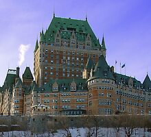 Chateau Frontenac from the Lower City by APhillips