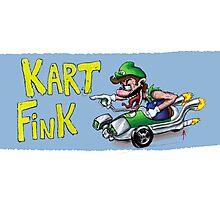Kart Fink Lil Bro! Photographic Print