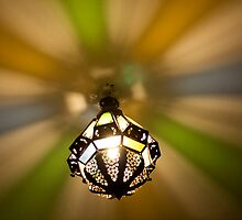 Arabic lamp by Antonio Jose Pizarro Mendez