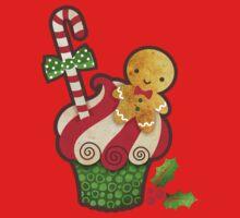 Christmas Cupcake Kids Clothes