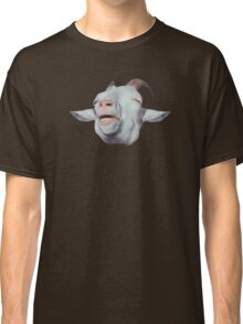 Happy Goat is Faded Classic T-Shirt