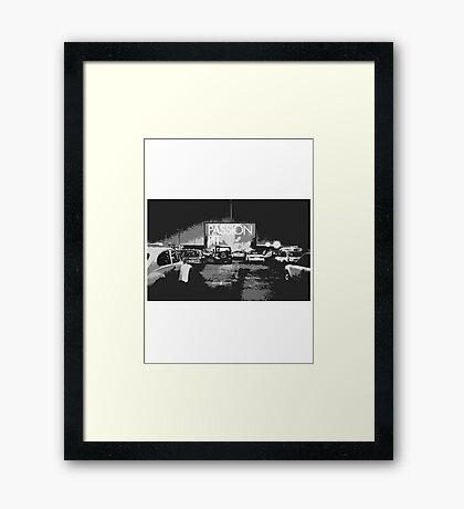 Passion Pit Framed Print
