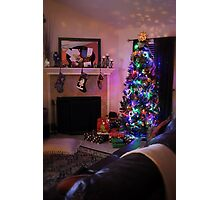 Merry Christmas from My Home to Yours! Photographic Print