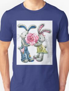 Valentine day. funny bunny T-Shirt