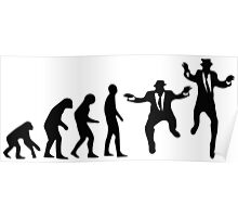 Evolution of the Blues brothers Poster