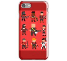 Team Fortress 2 8-Bit Red Team iPhone Case/Skin