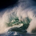 Winter Waves At Waimea Bay 9 by Alex Preiss