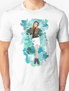 Ally Broke Blue Splash! Unisex T-Shirt