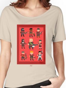 Team Fortress 2 8-Bit Red Team Women's Relaxed Fit T-Shirt