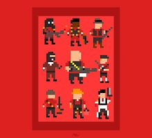 Team Fortress 2 8-Bit Red Team Unisex T-Shirt