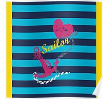 sailor love Poster