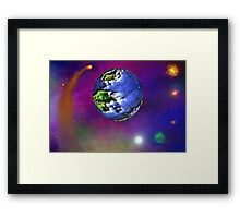 Space Odessey No. 02 (unsigned Ver.) Framed Print