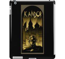 But who will save Kandor ? iPad Case/Skin